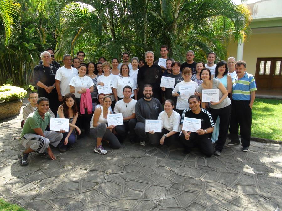Participantes Taller Chi Kung de los Cinco Elementos