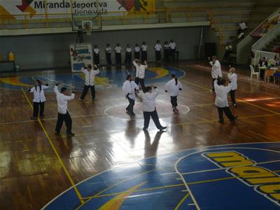 coreografia de taichi